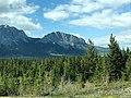 Castle Mountain, Banff National Park of Canada - Alberta back view by Kdruzhki.jpg