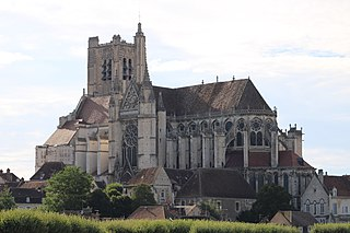 Auxerre Cathedral Church in Auxerre, FranceFrance