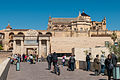 Cathedral–Mosque of Córdoba - view from the Roman bridge (6933162364).jpg