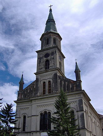 Ečka - Image: Catholic church in Ecka