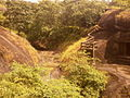 Caves, exteriors, steps, pathways at Kanheri 18.jpg