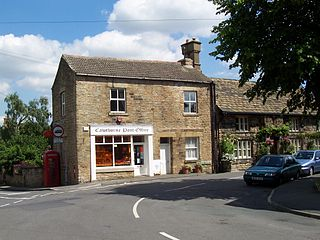 Cawthorne village in Yorkshire, United Kingdom