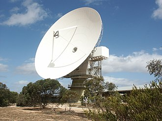 Telstra - Former OTC dish at Ceduna, South Australia.