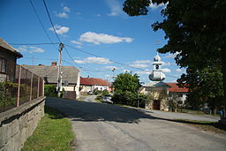 Center of Studnice, Třebíč District.JPG