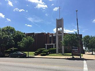 Central Baptist Church (St. Louis, Missouri) - Image: Central Baptist Church (St. Louis, Missouri)