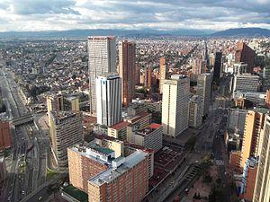 Bogotá - Image: Centro fin Btá 2