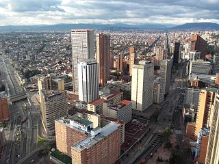 Bogotá Capital city of Colombia