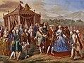 Cerimonia della posa della prima pietra del Palazzo Reale di Caserta.jpg