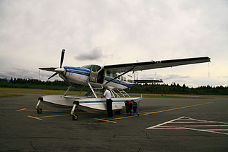 Kenmore Air - A Cessna 208 in Campbell River