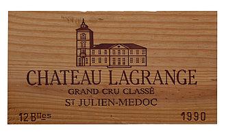 Château Lagrange - Image: Château Lagrange 1990 J1