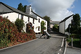 Challacombe, Simonsbath road at the Black Venus - geograph.org.uk - 58598.jpg