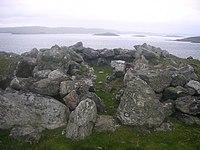 Chambered Cairn, Symbister Ness. - geograph.org.uk - 632063.jpg