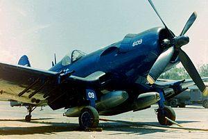 Honduran Air Force - A F4U Corsair sold to Honduras in 1956.