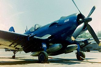 Honduran Air Force - A F4U Corsair sold to Honduras in 1956.