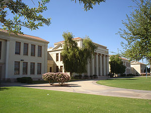 Chandler, Arizona - Chandler High School. Built 1921