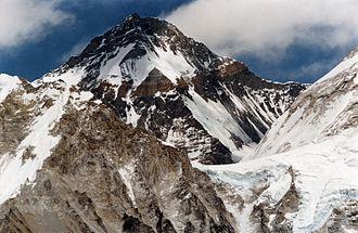 Changtse - Image: Changtse from Kala Pattar