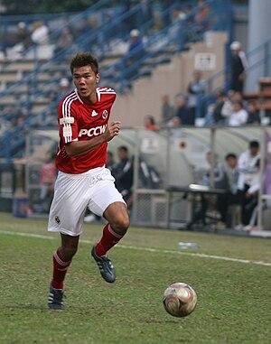 Chan Siu Ki - Chan Siu Ki playing for South China in 2008