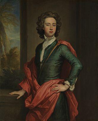 Charles Beauclerk, 1st Duke of St Albans - Charles Beauclerk circa 1690, on display at the Metropolitan Museum of Art.