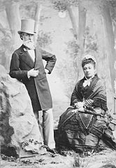 Charles Reed Bishop and Bernice Pauahi Bishop in San Francisco, Bishop Museum.jpg