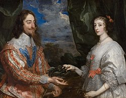 Anthony van Dyck: Portrait of Charles I and Queen Henrietta Maria