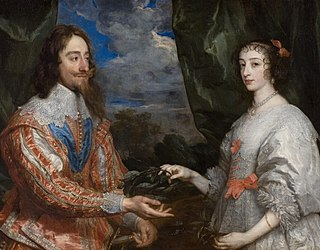 Portrait of Charles I and Queen Henrietta Maria