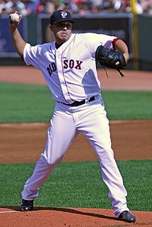 Charlie Zink on August 8, 2009, Futures at Fenway.jpg