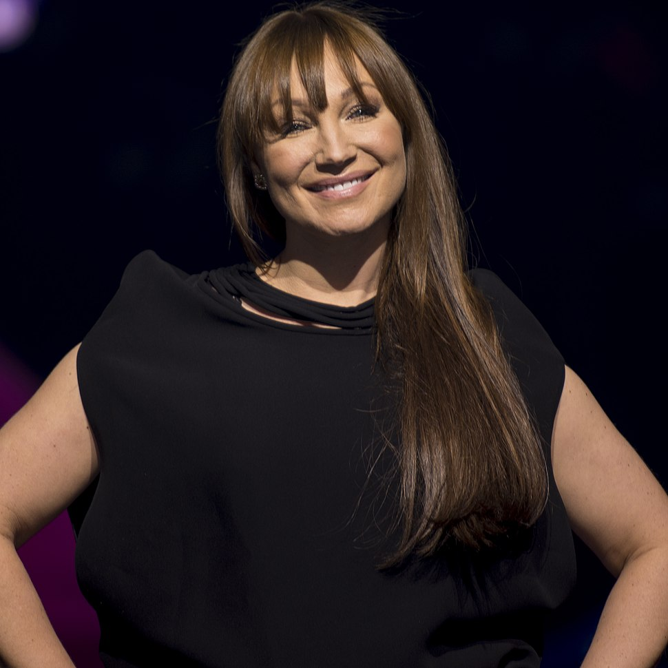Charlotte Perrelli, Melodifestivalen 2017 (cropped)