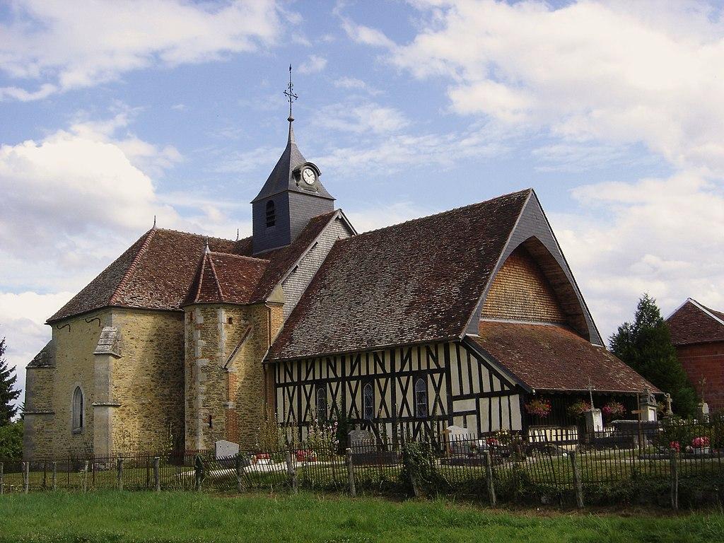 L'église Saint-Marcel-et-Notre-Dame-de-l'Assomption.