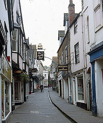 Frome - Image: Cheap Street, Frome geograph.org.uk 737335