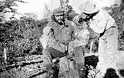 Che Guevara op het Boliviaanse platteland vlak voor zijn dood in 1967