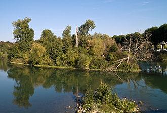 Chelles, Seine-et-Marne - Image: Chelles ile Refuge