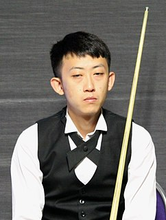 Chen Zhe Chinese snooker player