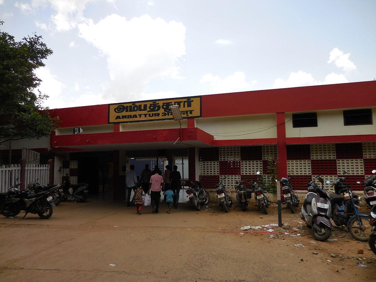 Ambattur railway station - Wikipedia