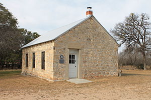 National Register of Historic Places listings in Gillespie County, Texas - Image: Cherry Spring 1