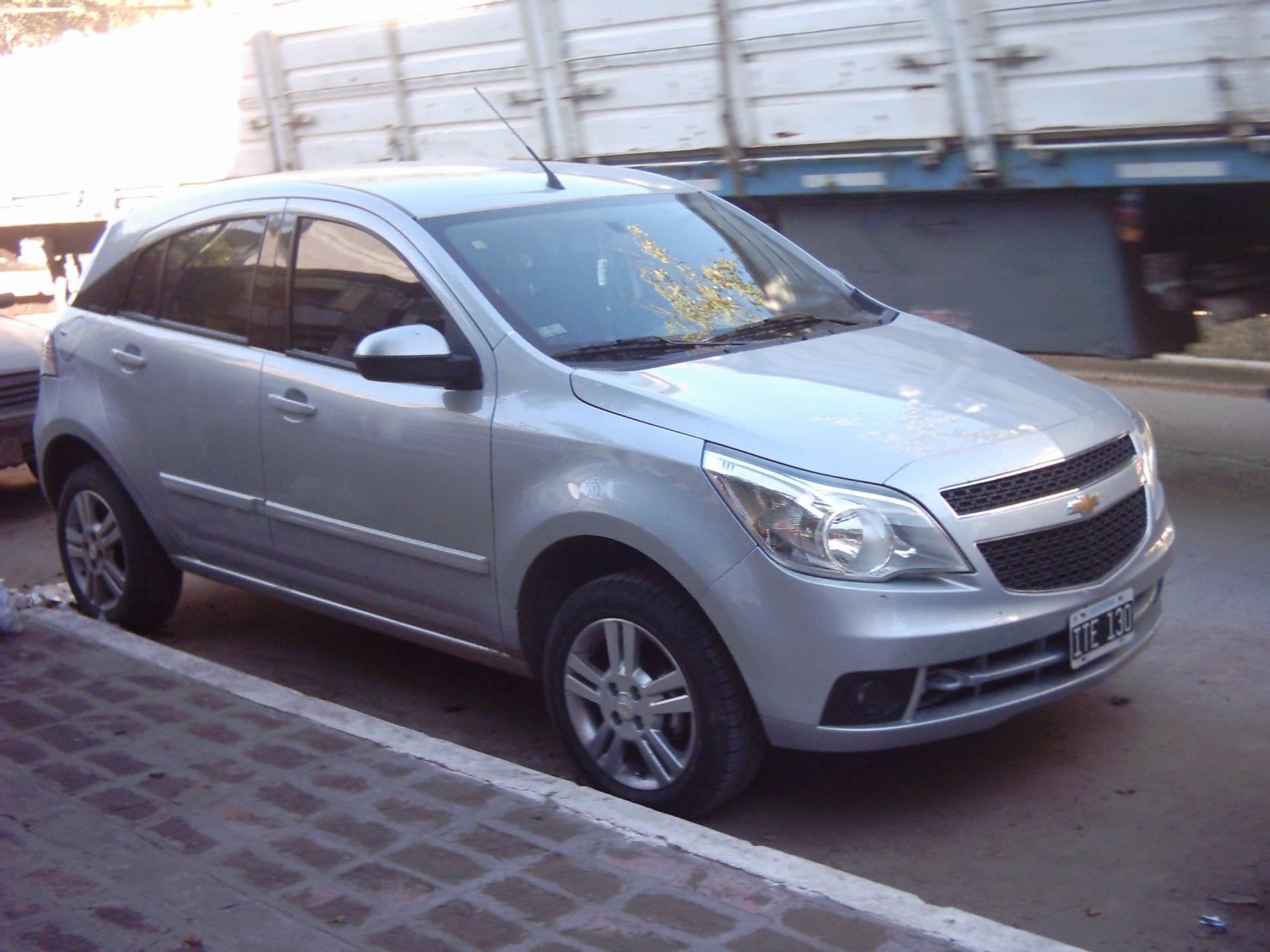 Chevrolet Agile - Wikipedia