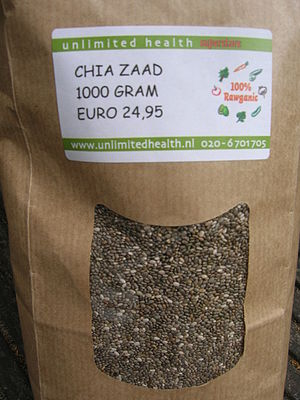 English: Chia Seeds