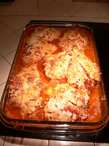 Crockpot Chicken Parmesan