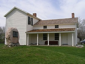 National Register of Historic Places listings in Huntington County, Indiana - Image: Chief Richardson house Huntington Indiana