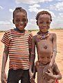 Children, Dassanech Tribe, Ethiopia (15649555445).jpg