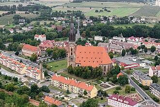 Chojna - Panorama of the town