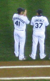 César Jiménez Major League Baseball pitcher in the Philadelphia Phillies organization