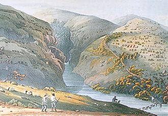 Christian Ignatius Latrobe - Kaaimansgat Pass near George, South Africa 1816