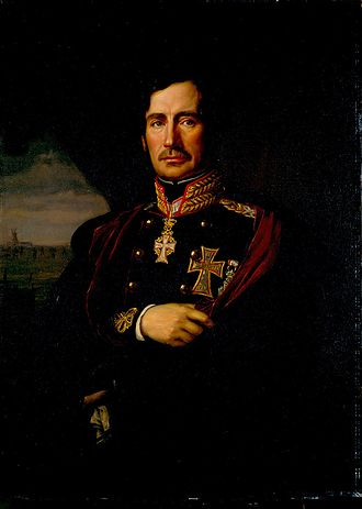 Chief of the Royal Danish Army - Image: Christian de Meza