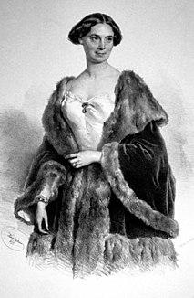 Christine Enghaus German actress, wife of Friedrich Hebbel