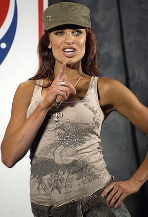 Christy Hemme - Hemme during her time with WWE