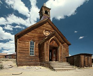 Bodie, California - The Methodist Church