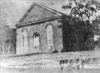 Mississippi Legislature - This brick church was erected in Washington, Mississippi in 1816.  Mississippi's first Constitution was written and adopted here, and the state's first legislature convened here in 1817. The preliminary trial of U.S. Vice President Aaron Burr occurred under some nearby oak trees.