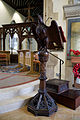 Church of the Holy Cross Felsted Essex England - eagle lectern.jpg
