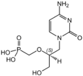 Cidofovir Structural Formulae.png