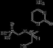 Strukturformel von Cidofovir